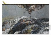 Claude Monet 1840 - 1926 Pheasant, Woodcock And Partridge Carry-all Pouch