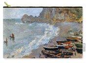 Claude Monet: Etretat, 1883 Carry-all Pouch