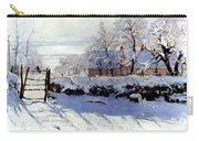 Claude Monet: The Magpie Carry-all Pouch by Granger