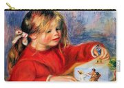 Claude Renoir At Play Sun 1905 Carry-all Pouch