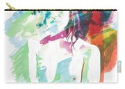Claudia Nude Fine Art Painting Print In Sensual Sexy Color 4887. Carry-all Pouch