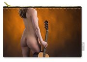 Claudia Nude Fine Art Print In Sensual Sexy Color 4875.02 Carry-all Pouch