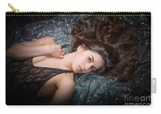 Claudia Nude Fine Art Print In Sensual Sexy Color 4884.02 Carry-all Pouch