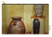 Clay - Wood Carry-all Pouch