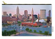 Cle Sunset View From The Shoreway Carry-all Pouch