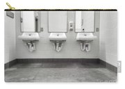 Clean Simple Public Washroom Sinks Mirrors Carry-all Pouch