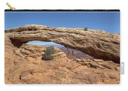 Clear Day At Mesa Arch - Canyonlands National Park Carry-all Pouch