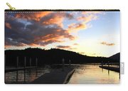 Clear Lake Sunset Carry-all Pouch