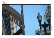 Clear Street Lamp Downtown Chicago Carry-all Pouch