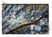 Clear Water Level With Twigs Carry-all Pouch