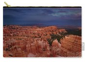 Clearing Storm Over The Hoodoos Bryce Canyon National Park Carry-all Pouch by Dave Welling