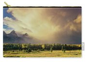 Clearing Summer Storm Grand Tetons National Park Carry-all Pouch