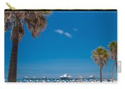 Clearwater Beach Carry-all Pouch by Adam Romanowicz