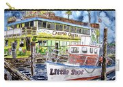 Clearwater Florida Boat Painting Carry-all Pouch