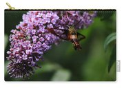 Clearwing Hummingbird Moth Carry-all Pouch