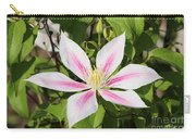 Clematis Andromeda Carry-all Pouch