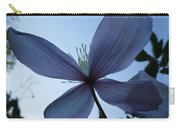 Clematis At Dusk Carry-all Pouch