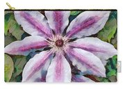Clematis Camille Carry-all Pouch