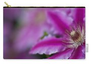 Clematis Dream Carry-all Pouch