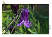 Clematis Flower Blossoms Carry-all Pouch