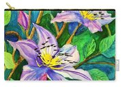 Clematis For Elsie Carry-all Pouch