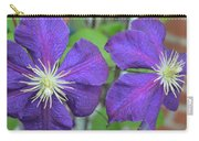 Clematis Friends Carry-all Pouch