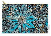 Clematis In Blue Fantasia Carry-all Pouch