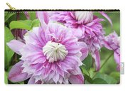 Clematis Josephine #6 Carry-all Pouch
