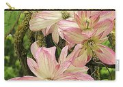 Clematis Montana Marjorie 1060  Carry-all Pouch