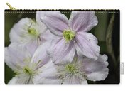 Clematis Montana Rubens Group Carry-all Pouch