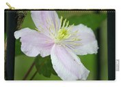 Clematis Montana Rubens Vine Carry-all Pouch