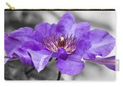 Clematis Carry-all Pouch