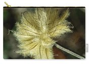 Clematis Seed Head 1 Carry-all Pouch