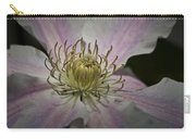 Clematis Study 1 Carry-all Pouch