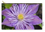 Clematis 'sunnyside' Carry-all Pouch
