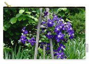 Clematis Vine Carry-all Pouch