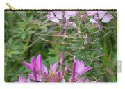 Cleome Sparkler Lavender Carry-all Pouch