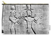 Cleopatra And Caesarion, Temple Carry-all Pouch