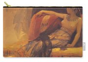 Cleopatra Preparatory Study For Cleopatra Testing Poisons On The Condemned Prisoners Carry-all Pouch