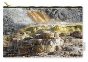 Cleopatra Terrace In Yellowstone National Park Carry-all Pouch