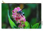 Clethra And Wasp Carry-all Pouch