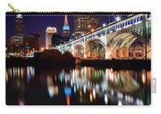 Cleveland Ohio Skyline Carry-all Pouch