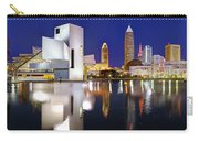 Cleveland Skyline At Dusk Carry-all Pouch