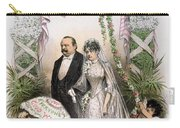 Clevelands Wedding, 1886 Carry-all Pouch