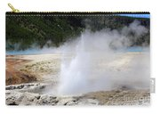 Cliff Geyser Black Sand Basin Yellowstone National Park Carry-all Pouch