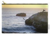 Cliff Jumping To Surf Carry-all Pouch