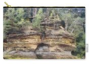 Cliffs At The Dells Carry-all Pouch