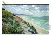 Cliffs By The Sea At Trouville  Carry-all Pouch