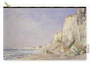 Cliffs Near Dieppe Carry-all Pouch