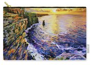 Cliffs Of Moher At Sunset Carry-all Pouch